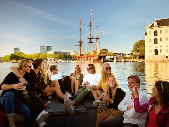 Luxury canal cruise from Rijksmuseum
