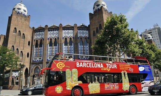 Barcelona city tour hop-on hop-off bus tickets