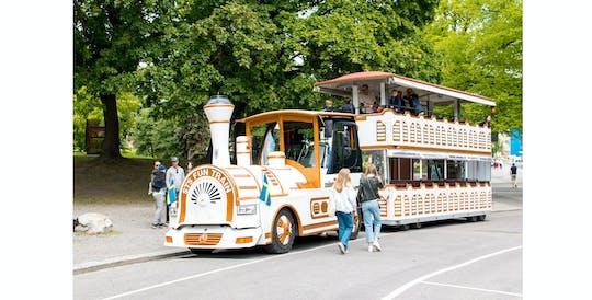 Tour Royal Djurgården en el tren turístico más grande de Europa