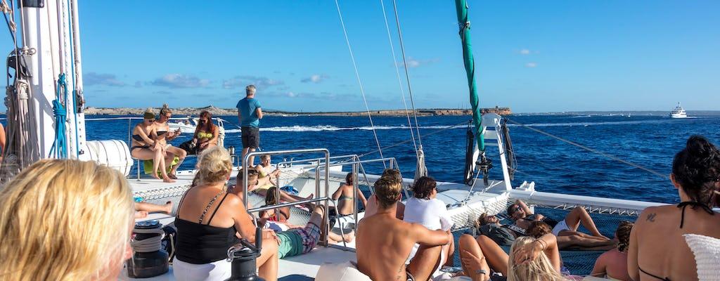 Ibiza Hele Dag Catamaran Cruise Ticket
