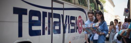 Traslado en autobús entre el aeropuerto de Ciampino y el centro de Roma