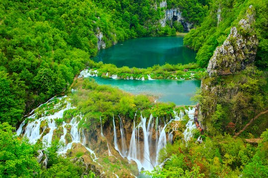 Premium tour door het Plitvice National Park