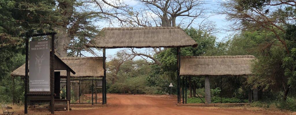 Bandia National Forest safari van een halve dag vanuit Saly of Somone