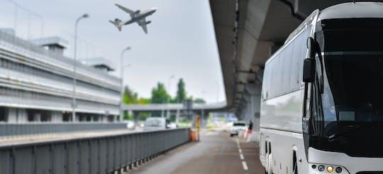 Bus transfer between Malpensa airport and Milan city center