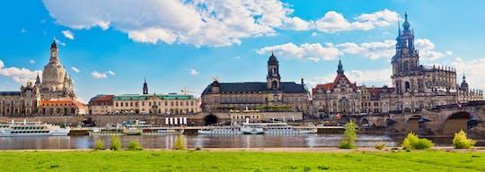 Tour por la gran ciudad de Dresde en bicicleta
