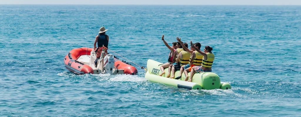 Giro in banana boat a Salou