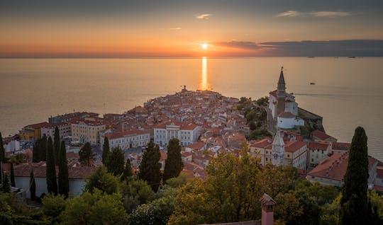 Tour di mezza giornata mozzafiato al tramonto di Pirano