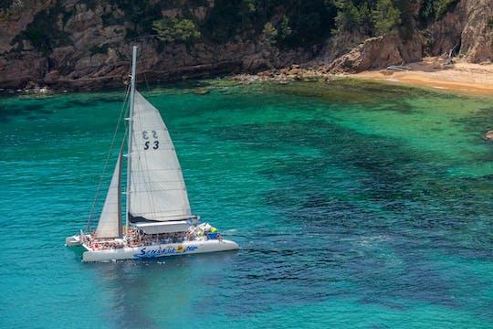 Experiência de navegação na Costa Brava