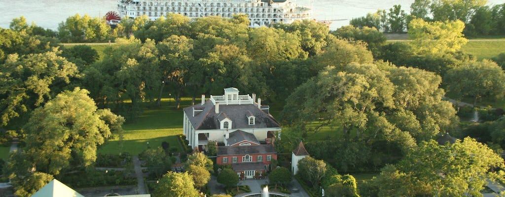 Casa de Houmas, jardins e combinação de passeio pelo museu Great River Road
