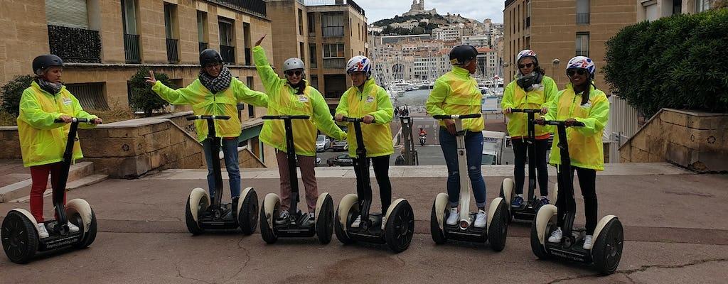Notre Dame de la Garde self-balancing scooter tour