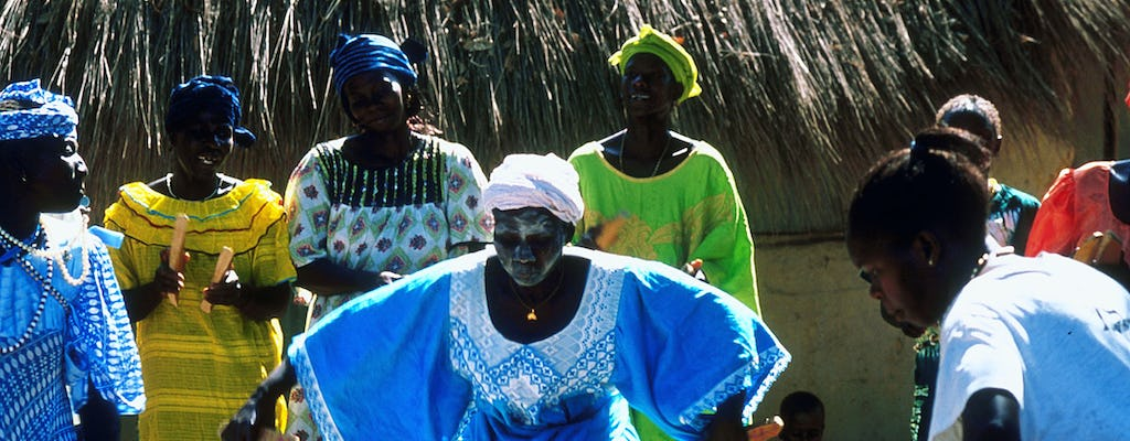 Senegal evening bush village tour with BBQ from Saly or Somone