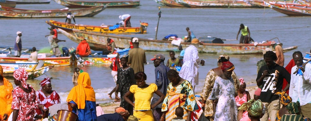 Fishermen arrival in Mbour half-day tour from Saly or Somone