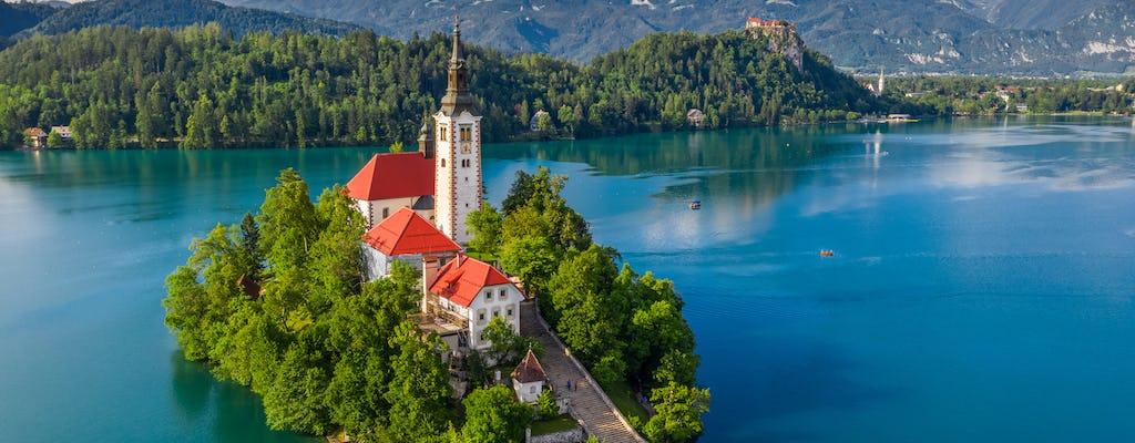Tour privado de medio día por el lago Bled desde Ljubljana