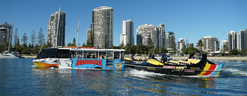 Aquaduck and Paradise Jet Boating combo