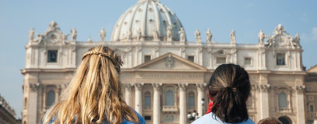 Audiencia papal y visita a los Museos Vaticanos con almuerzo
