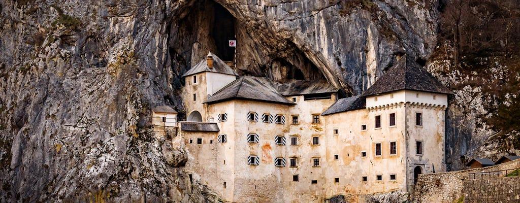 Tour privado de medio día por la cueva de Postojna y el castillo de Predjama