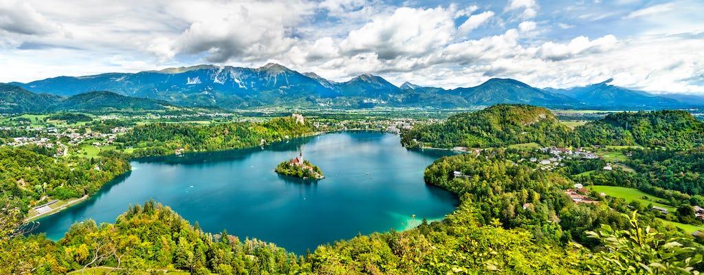 Full-day private tour of Lake Bled and Lake Bohinj