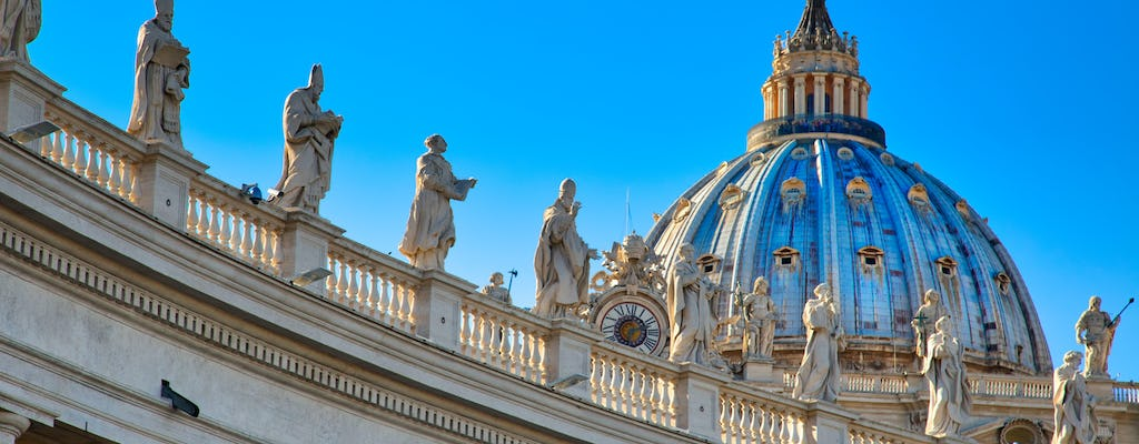 Market tour with lunch and visit to the Vatican Museums