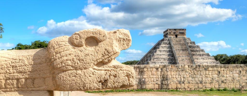 Tour di Chichén Itzá, Ik Kil Cenote e Valladolid