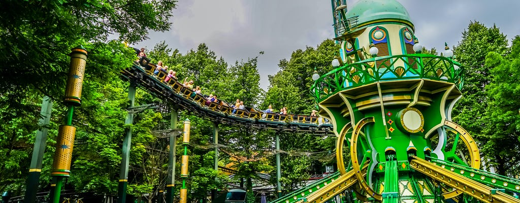 Copenhagen and Tivoli Amusement park private walking tour
