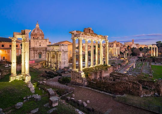 Roman Forum admission ticket and night light show