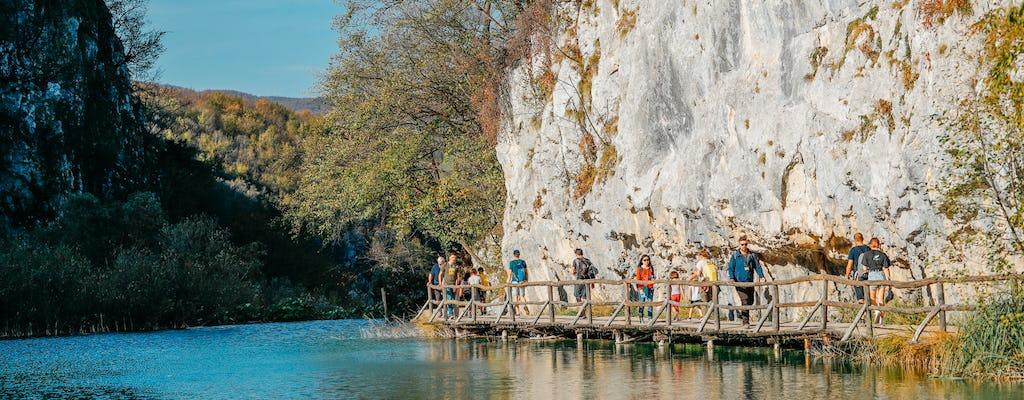Tour to Plitvice Lakes National Park and Rastoke from Zagreb