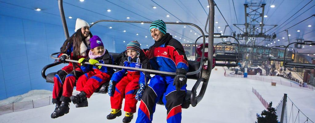 Pase de pista de 2 horas en Ski Dubai