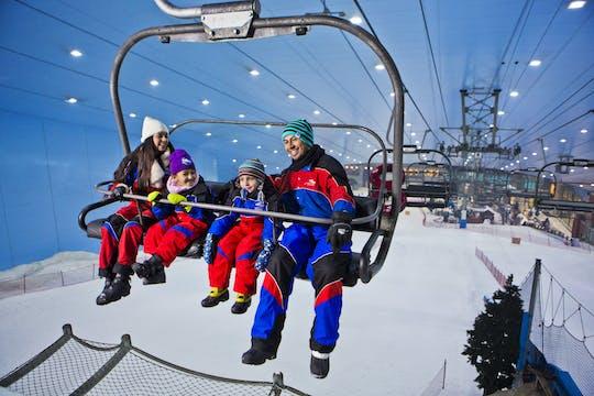 Passe de 2 horas na pista de esqui de Dubai