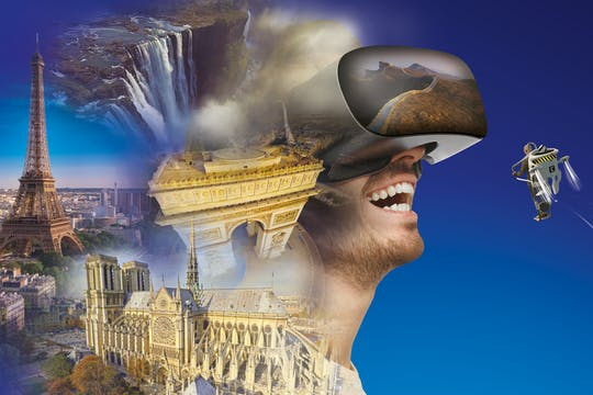 The Incredible Flyover Paris and the world in virtual reality