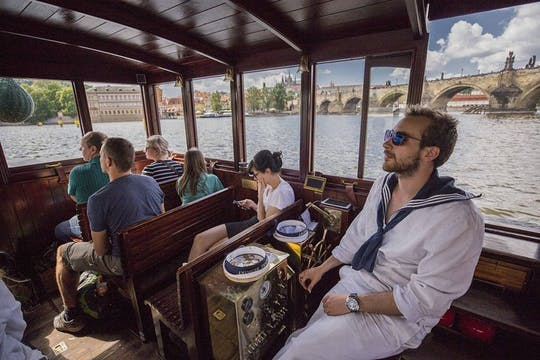 Prague Castle and Vltava boat tour