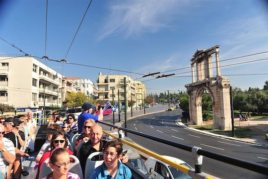 Acropolis, Parthenon skip-the-line tickets and Combo hop-on hop-off tour of Athens, Piraeus and Beaches