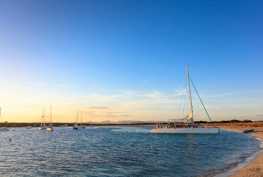 Katamarantour Ibiza Sunset