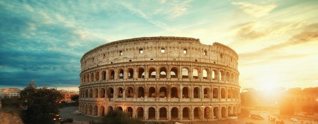 Wycieczka do Koloseum, starożytnego miasta i Muzeów Watykańskich