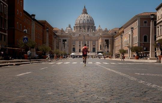 Tour di corsa avventurosa nella Città Eterna
