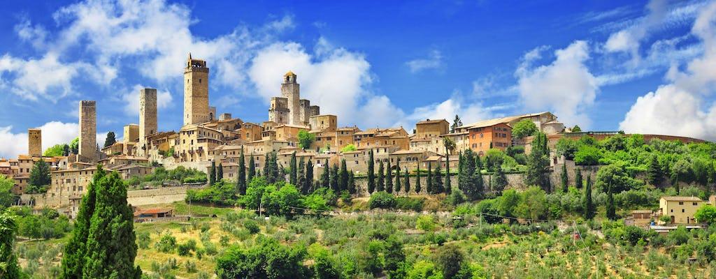 Дегустация Сиену и экскурсия по Сан-Джиминьяно из Рима с едой и вином