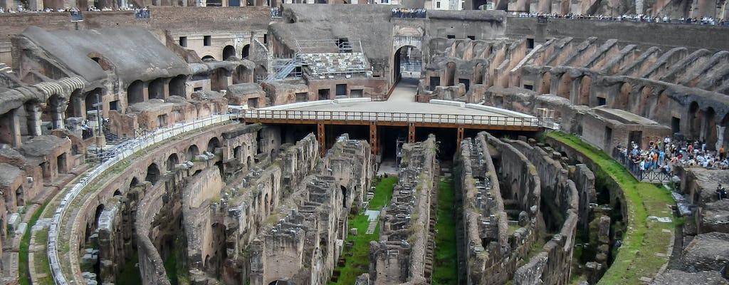 Экскурсия по Колизею со специальным доступом на арену