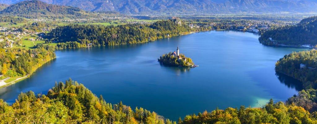 Tour por la ciudad de Ljubljana y Bled desde Zagreb