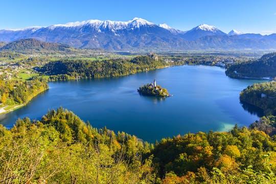 Tour della città di Lubiana e Bled da Zagabria