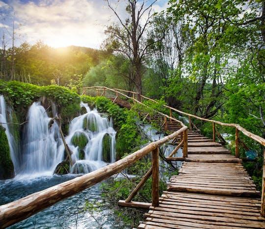 Plitvice Lakes National Park private day trip from Ljubljana