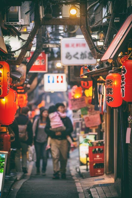 Wieczorna wycieczka piesza po Tokio po Shimbashi