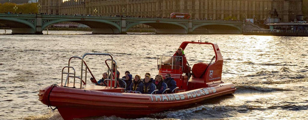 Thames Lates speedboat experience