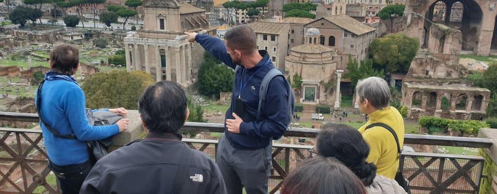Wycieczka po Palatynie i Forum Romanum