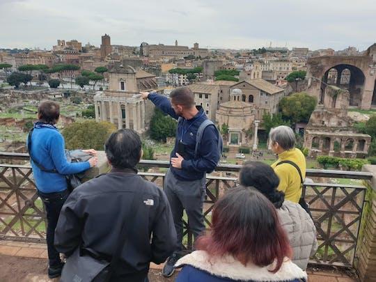 Tour pelo Monte Palatino e Fórum Romano
