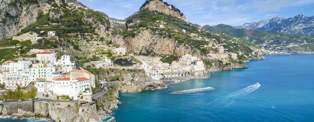 Privérondvaart langs de Amalfikust vanuit Salerno