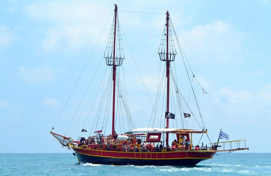 Piracki rejs statkiem Black Rose