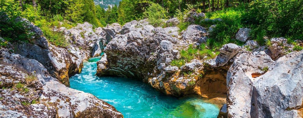 Dagtrip naar Emerald River Soca vanuit Ljubljana