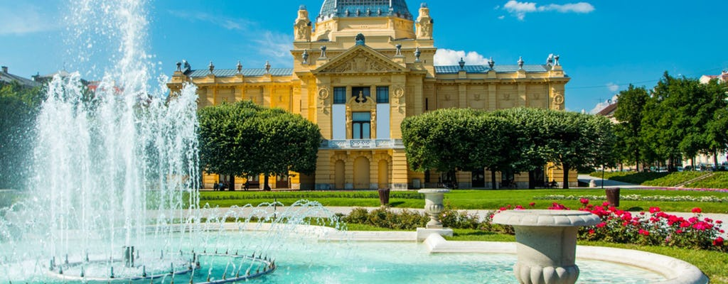 Private Zagreb sightseeing tour from Ljubljana