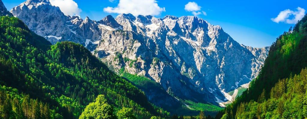 Logar Valley and Alpine fairytale hiking trip from Ljubljana