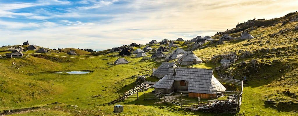 Экскурсия в Камник и плато большое пастбище из Любляны