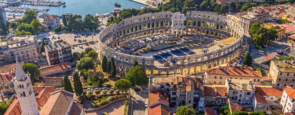 Magic of Istria day trip with Pula Amphitheater from Ljubljana